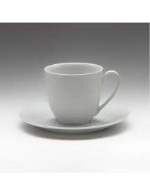 Чайная пара с круглым блюдцем «Tvist» 200 мл