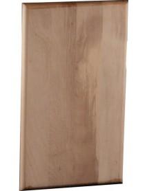 Доска разделочная с деревянными стяжками и шкантами 480-500х300х40 мм бук