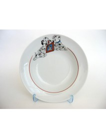 Тарелка глубокая 200 мм Далматинцы