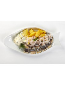 Блюдо овальное Рыбка «Day» 400 мм