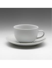 Чайная пара с круглым блюдцем «Tvist» 210 мл