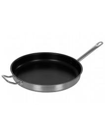 Сковорода Luxstahl 360/50 из нерж. стали, антипригарное покрытие