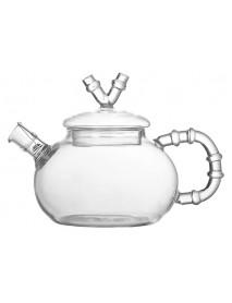 Чайник заварочный «Bamboo» из боросиликатного стекла с ситечком–пружинкой 600 мл