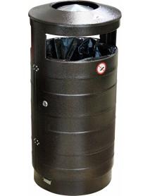 Урна для мусора уличная с пепельницей 440х800 мм