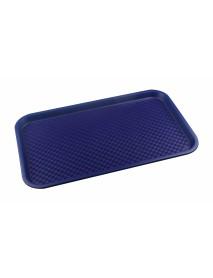 Поднос столовый из полипропилена 525х325 мм синий