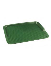 Поднос столовый из полипропилена 425х320 мм зеленый