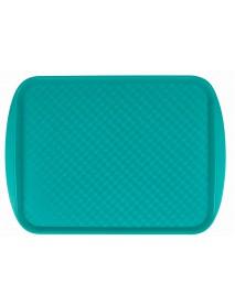 Поднос столовый из полистирола 450х350 мм зеленый