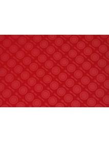 Поднос столовый из полистирола 450х350 мм красный