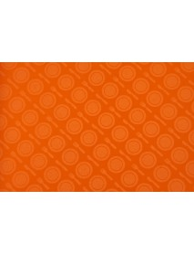 Поднос столовый из полистирола 450х350 мм оранжевый