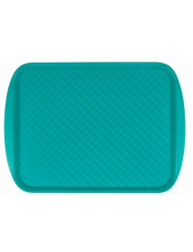 Поднос столовый из полистирола 420х300 мм зеленый