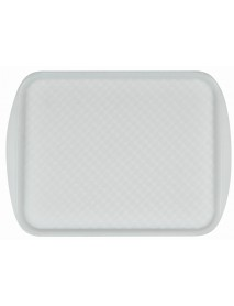 Поднос столовый из полистирола 420х300 мм бесцветный