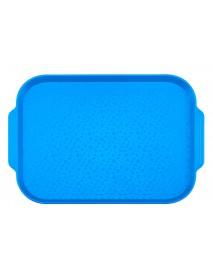 Поднос столовый 450х355 мм с ручками синий