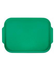 Поднос столовый 450х355 мм с ручками зеленый
