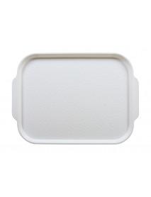 Поднос столовый 450х355 мм с ручками белый