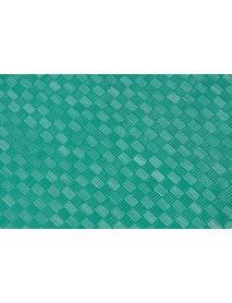 Поднос столовый из полистирола 450х355 мм зеленый