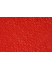 Поднос столовый из полистирола 450х355 мм красный