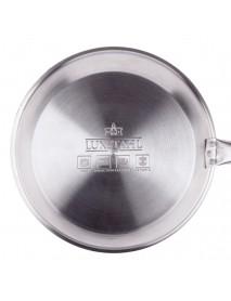 Сковорода Luxstahl 220/50 из нерж. стали, антипригарное покрытие