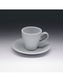 Кофейная пара с круглым блюдцем «Collage» 90 мл