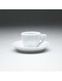 Кофейная пара с круглым блюдцем «Collage» 70 мл
