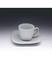 Кофейная пара с квадратным блюдцем «Collage» 80 мл