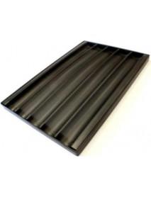 Противень багетный алюминиевый UNOX TG 435 600x400 мм перфорированный