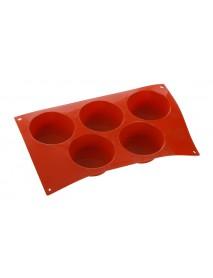 Форма для выпечки Большой маффин, 5 элементов Silicon Flex