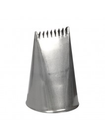 Насадка кондитерская «Лента гофрированная широкая» 30 мм