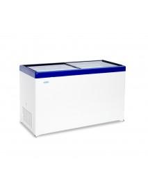 Морозильный ларь с плоской стеклянной крышкой МЛП 500