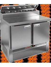 Стол холодильный для пиццы HICOLD PZE2-11/GN