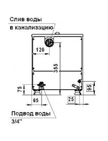 Кипятильник КНДЭ-80, проточный