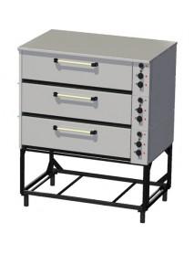 Шкаф жарочно–пекарский ЭШП-3с, нержавеющая сталь