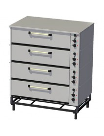 Шкаф жарочно–пекарский ЭШП-4с, нержавеющая сталь