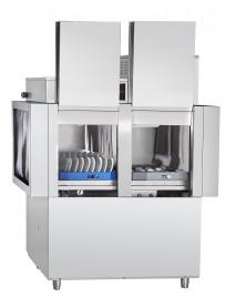 Машина посудомоечная туннельная МПТ-1700-01 правая, на колесах, теплообменник, 1700 тарелок/час, 3 программы мойки, 2 дозатора (моющий, ополаскивающий), насос мойки, 26,7 кВт, 400В