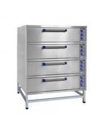 Шкаф пекарский четырехсекционный ЭШ-4к