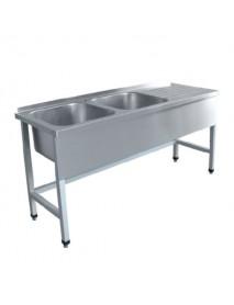 Стол для мойки овощей СМО-6-7 РН (нерж.)