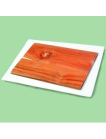 Блюдо прямоугольное со вставкой из акации 99002805