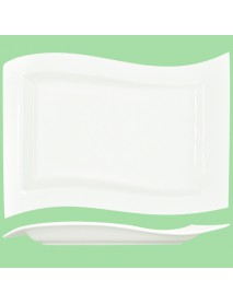 Блюдо прямоугольное «Волна» (24х16 см) 99004065