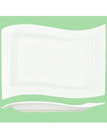 Блюдо прямоугольное «Волна» (33х21 см) 99004067