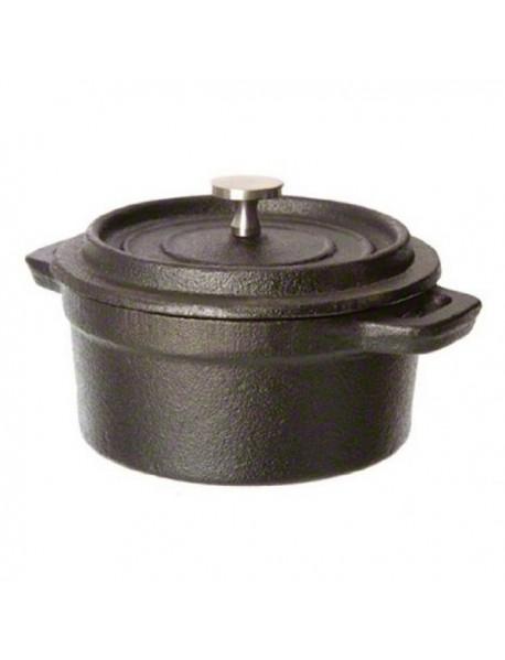 Кастрюля порционная с крышкой, чугун (500 мл) 713204