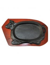 Сковорода чугунная «Корова» (25х15 см) 92001246