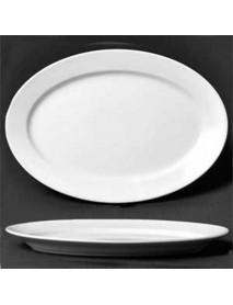 Блюдо овальное, фарфор (360х250 мм) ИБД 03.360