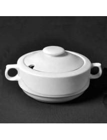 Крышка для супницы «Принц», фарфор (2,6 л) ИВС 03.2600