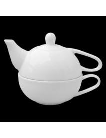 Крышка к чайнику «Эгоист», фарфор (400 мл) ИЧК 28.400