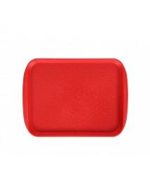 Поднос столовый 330х260 мм красный