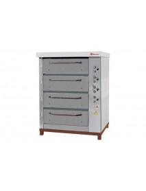 Хлебопекарная ярусная печь ХПЭ-750 (нержавеющие облицовка и дверки)
