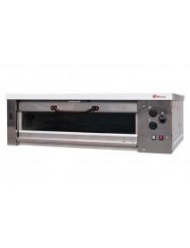 Хлебопекарная ярусная печь ХПЭ-750/1C (нержавеющая облицовка, стеклянные дверки)